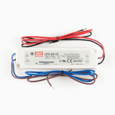 Блок питания Mean Well 36W DC12V IP67 (LPV-35-12)