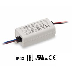 Блок питания Mean Well 8W DC12V IP42 (APV-8-12)